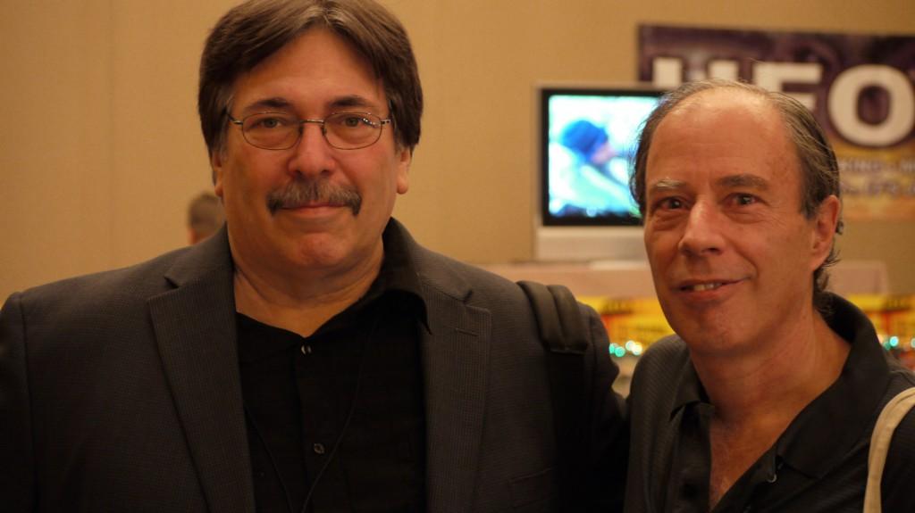 Lee Speigel & Antonio Huneeus at the 2011 MUFON Symposium (credit: Alejandro Rojas)