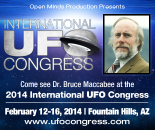 Come See Dr. Bruce Maccabee at the 2014 IUFOC